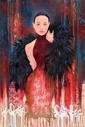 Poised by Troika -  sized 39x59 inches. Available from Whitewall Galleries